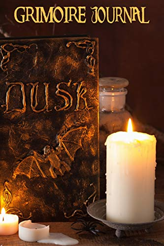 Grimoire Journal - Blank Book Of Shadows: Apothecary Dusk Spell Book