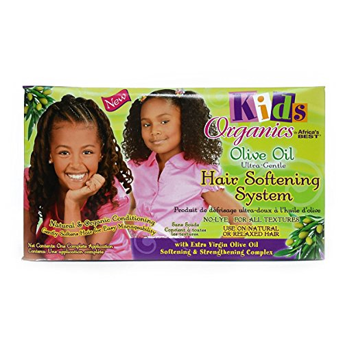 Originals Africa's Best Kids Organic Hair Softening System, 1 Ea, 1count