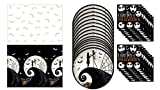 Nightmare Before Christmas - Tablecloth - Paper Plates - Napkins - Everyday is Halloween Set