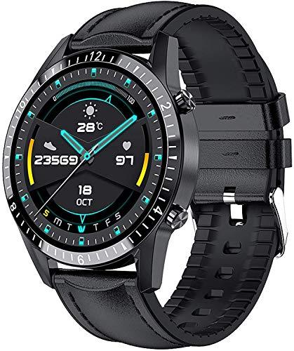 Smartwatch, Reloj Inteligente Fitness Tracker Hombres, Reloj Inteligente de Pantalla Táctil Completa Impermeable IP67 con 10 Deportes,Pulsómetro,Monitoreo del Sueño,Pulsera Actividad para Android iOS