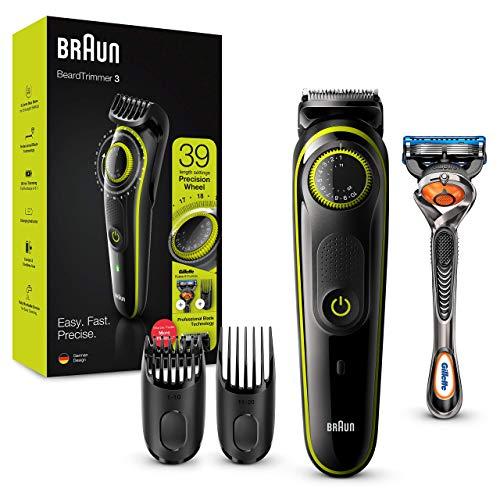 Braun BT3241 Tondeuse électrique Barbe et...