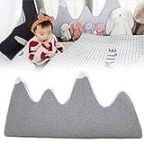 Parachoques de cuna de algodón para bebé, ropa de cama transpirable, parachoques, juego de forro de cuna acolchado lavable para decoración de habitación
