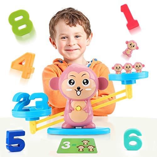 Balanza de juguete Montessori