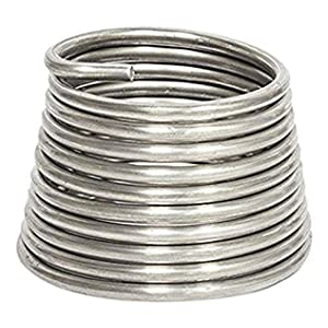Jack Richeson JACK-400360 Armature Wire 1/4 Inch (.25) 10', 10Ft, Silver