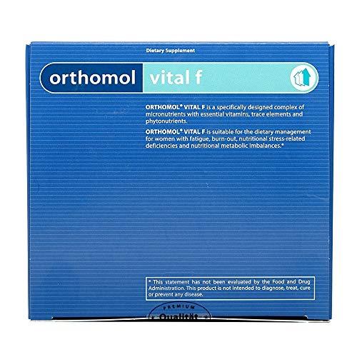 Orthomol 女性用 バイタル F 30日分 (錠剤、カプセル) (海外直送品)