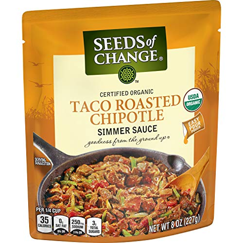 SEEDS OF CHANGE Taco Simmer Sauce