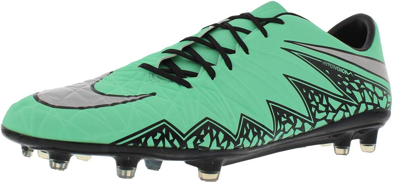 Nike Men's Hypervenom Phatal II FG Soccer Cleat (Green Glow)