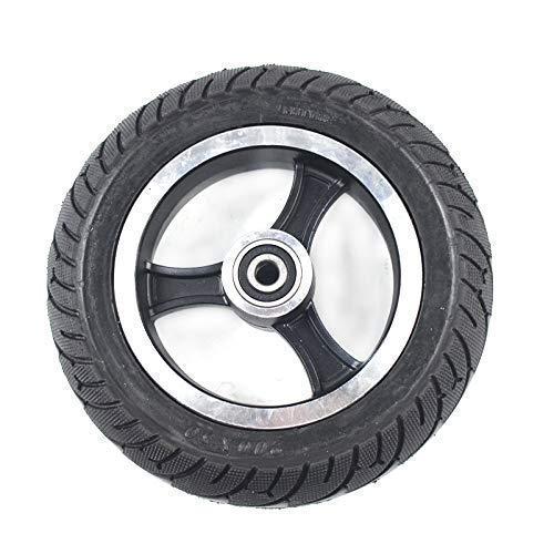 Neumático Macizo para Scooter Eléctrico 200X50 con Buje para Llantas De Aleación De Aluminio, Rueda Maciza para Vehículos Eléctricos, Ruedas De Repuesto para Neumáticos