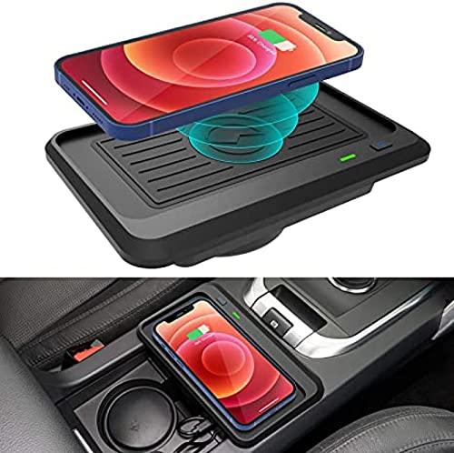 Cargador Coche Inalámbrico Para Land Rover Discovery Sport 2020-2015 Panel Accesorios Consola Central,Cojín Del Cargador Del Teléfono de Las Bobinas de La Carga Rápida de 10W Qi 3 Para El IPhoneHUAWEI