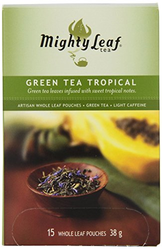 Mighty Leaf Tea, Tropical Green --(Pack of 6)