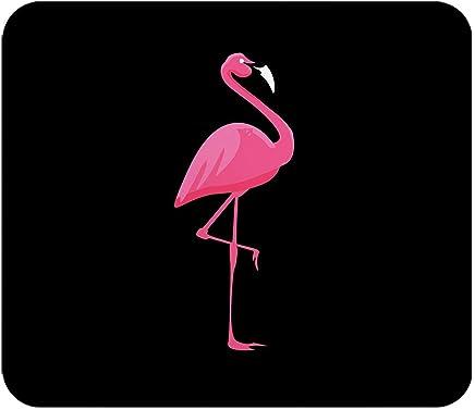 Loud Universe Flamingo Pink Animal Rectangular Thick Flexible Mouse Pad