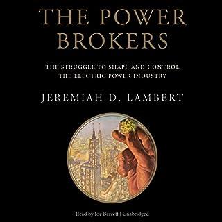 The Power Brokers audiobook cover art