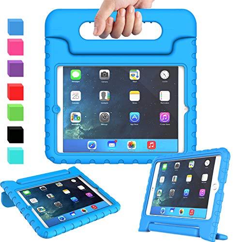 AVAWO Kids Case for iPad Mini 1 2 3 - Light Weight Shock Proof Handle Stand Kids for iPad Mini, iPad Mini 3rd Generation, iPad Mini 2 with Retina Display - Blue