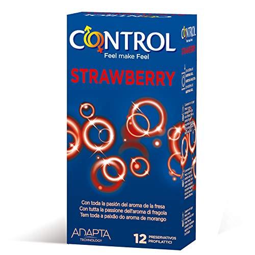 Control Strawberry Condoms Box of 12