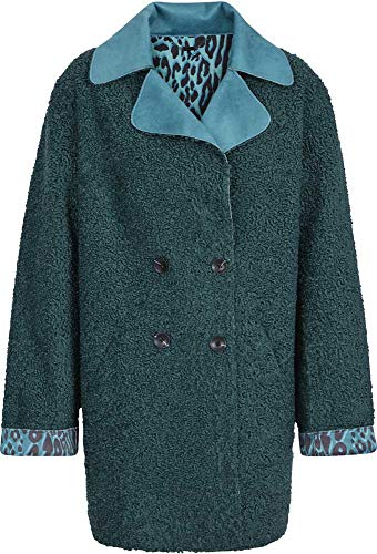 Sportalm Damen Mantel Größe 42 EU Grün (grün)