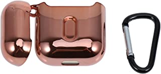 Hemobllo Wireless Earphone Case Bluetooth Headset Box Cover Shockproof Protective Case Electroplated TPU Wireless Headphon...