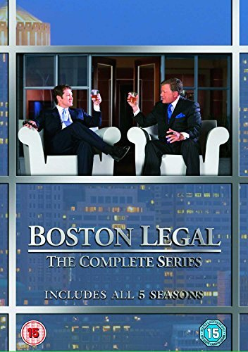 Boston Legal (Complete Series) - 27-DVD Box Set ( Boston Legal - Seasons 1-5 ) [ Origine UK, Nessuna Lingua Italiana ]