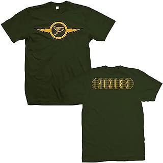 Pixies Lightning Logo Men's Green T-Shirt + Coolie