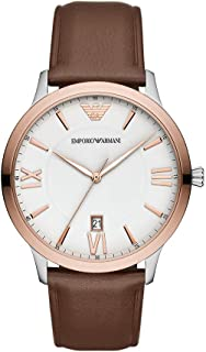 Emporio Armani Giovanni Quartz White Dial Men's Watch AR11211