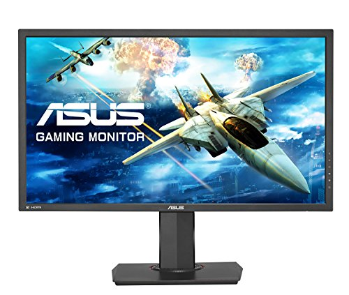"ASUS MG28UQ - Monitor Gaming de 28"" (60 Hz, TN, resolución 4K 3840 x 2160, 16:9, Brillo 300 CD/m2, Respuesta 1 ms GTG, Adaptive Sync, 2 Altavoces estéreo de 2 W RMS)"