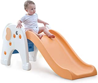 Skiout Children's Slide Plastic Play Slide Climbing Ride Climber for Kids Outdoor Indoor Play Toy Playground
