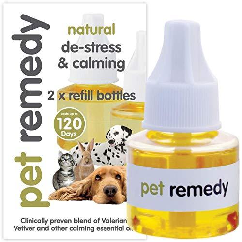 Pet Remedy - Recambio Natural antiestrés y calmante, 40 ml, 2 Unidades
