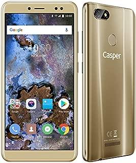 Casper Via M4 Akıllı Telefon, 16 GB, Altın (Casper Türkiye Garantili)