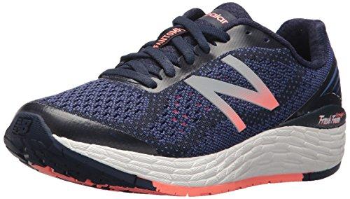 New Balance Women's Vongo v2 Running Shoe, Pigment/Blue iris, 10 D US