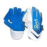 Kookaburra Unisex's SC Pro Wicket Keeping Gloves, Blue/White, Adult