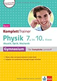 Klett KomplettTrainer Gymnasium Physik 7.-10. Klasse Band 1: Akustik