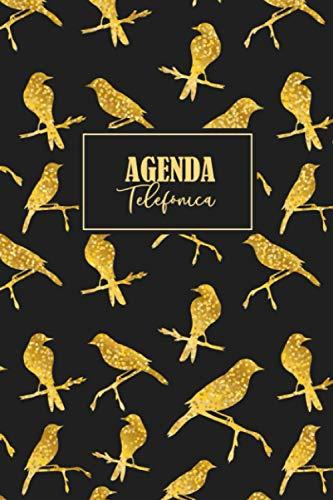 Agenda Telefónica: Cuaderno de 400+ contactos con direcciones, números de teléfono, correos electrónicos | Formato para una lectura fácil para adultos y personas mayors