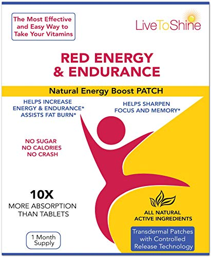 Sports Nutrition Endurance & Energy Patches