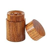 Thé Boîte de rangement, boîte à café, thé, boîte de rangement à épices, japonais, en bois boîte de rangement de cuisine multi-usages...