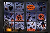 CMTOP Halloween Pegatinas Halloween Calcomanías de la Ventana Pegatinas de Pared Decoración Pegatina Calavera espantapájaros