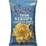 FRONTERA Thin & Crispy Tortilla Chips, Non-GMO, Small Batch, 10 oz.