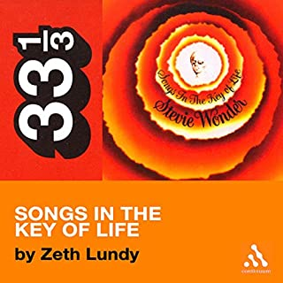 Stevie Wonder's Songs in the Key of Life (33 1/3 Series) cover art
