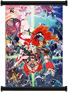 Gurren Lagann Anime Fabric Wall Scroll Poster (31