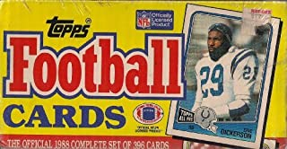 1988 Topps Football Factory Sealed Set 396 Cards