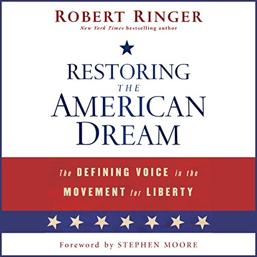 Restoring the American Dream audiobook cover art