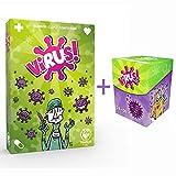 Juego Virus + Deck Box (Incluye 120 Fundas Premium para Cartas)
