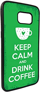 keep calm & drink tea Printed Case for Galaxy S7