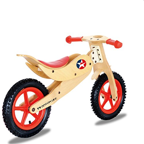 Find Discount Scooters Tricycles Bicycle Walker Child Balance Bike No Pedal Adjustable seat Handle S...
