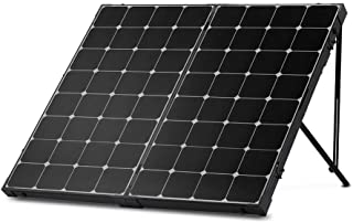 Renogy 200 Watt Off Grid Portable Foldable Solar Panel Suitcase Built-in Kickstand with Waterproof 20A Charger Controller,...