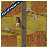 Gale Force Nine Tanks Corn Fields Game Mat (8 Players), 36 X 36