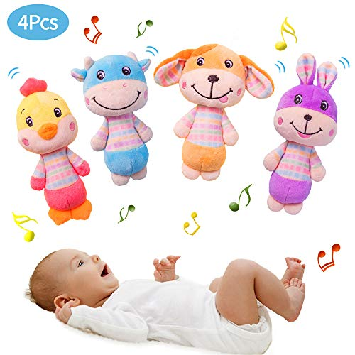Find Discount Blppldyci Baby Rattles Toys Newborn First Rattle Toys - Baby Hand Grab, Hold and Shake...