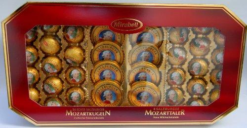Mirabell - Set regalo con sfere e MOZART TALER 600 grammi