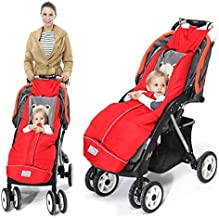 Warm Bunting Bag Universal,Stroller Sleeping Bag Cold Weather,Waterproof Toddler Footmuff