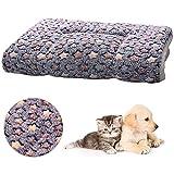 FANDE Tappetino per Animali, Coperta per Cani, Pet Pad, Mini Tappeto per Cani, Gattino Letto per Dormire Stuoia Autunno Inverno Cuscino (M, 55 * 42 CM)