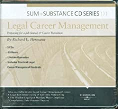 Sum and Substance Audio Series on Legal Career Management