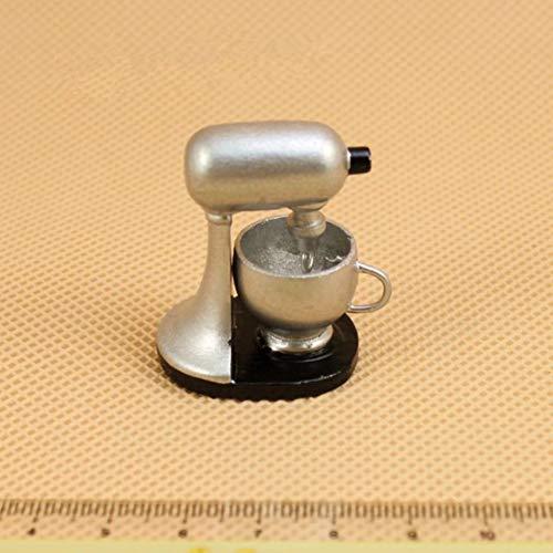 MeterMall Simulierter Mixer Baby Pretend Play Toy f¨¹r 1:12 Puppenhaus-K¨¹chenzubeh?r